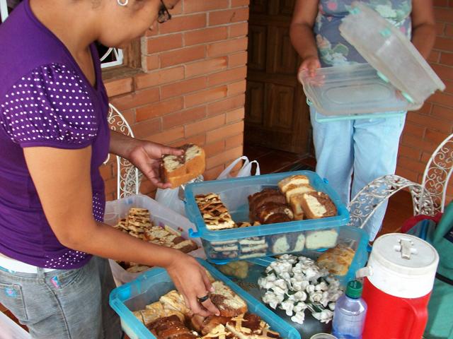 Pastora Myriam in Paraguay-Bakery